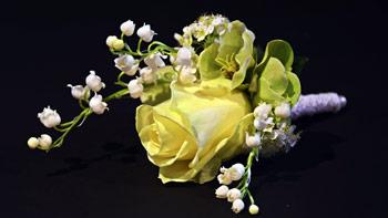 corsage-trouwen bruid anggrek amsterdam