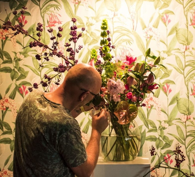 Bloemen verzorgen evenement Amsterdam RAI